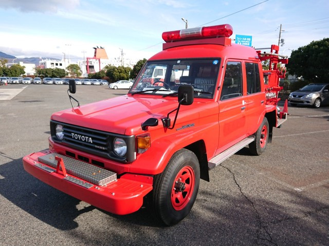 Low price mileage discount firetruck great condition import export japan jdm