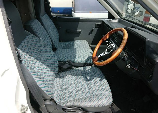 Japanese camper cabin driver seat passenger