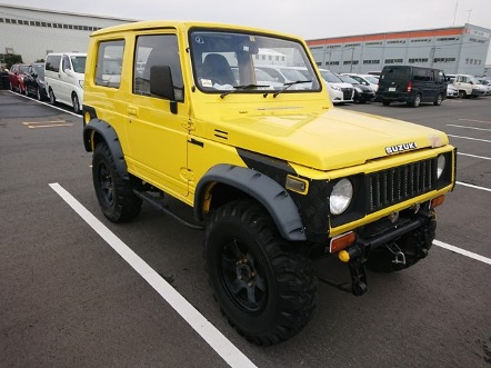 Heavy duty kei suv 4x4 5speed JDM 25 year rule DIY import