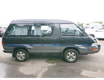 4wd diesel turbo camping car excellent condition low mileage Japanese import export professionals jdm