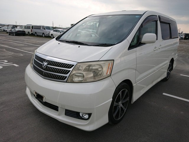 JDM van luxury rear camera 7 seater captain chairs spacious