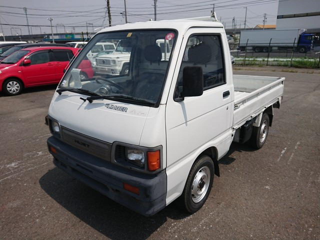 Kei truck rear diff lock 5 speed manual transmission AC Climber go anywhere 4wd