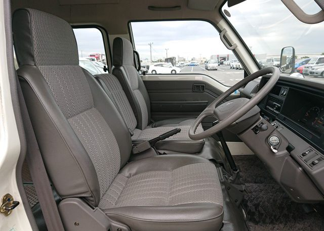 1994 Nissan Homy front seats right