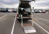 1994 Nissan Homy rear wheelchair lift rear