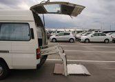 1994 Nissan Homy rear wheelchair lift side