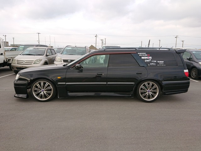 JDM fast station wagon 5MT aftermarket mods Turbo Easy to do imports Japanese auctions