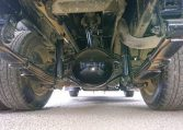 2006 Mitsubishi Canter Dump Truck. Underbody view with flash of differential. Clean underbody