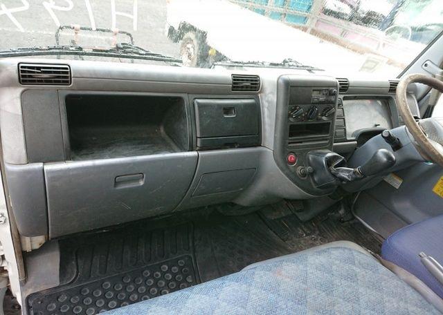 2006 Mitsubishi Canter Dump Truck. Front dash passenger's side