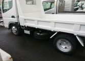 2006 Mitsubishi Canter Dump Truck. Close up of side view of very clean truck