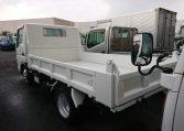 2006 Mitsubishi Canter Dump Truck. Rear three quarter view of nice truck