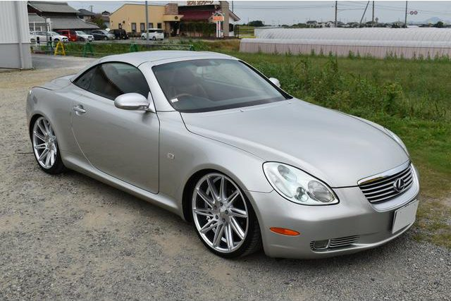 Lexus SC430 import from Japan for low miles andgood condition. Near mint condition car.