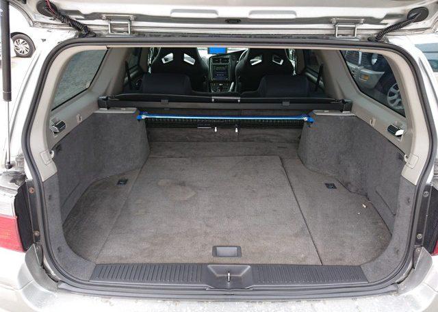 2000 Nissan Stagea 260RS Autech Version rear storage