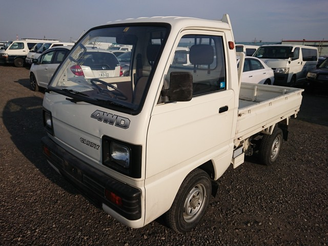 Kei mini dump bed 4wd truck 25 year rule USA buy jdm import today economical cheap workhorse 4 speed manual good condition no rust