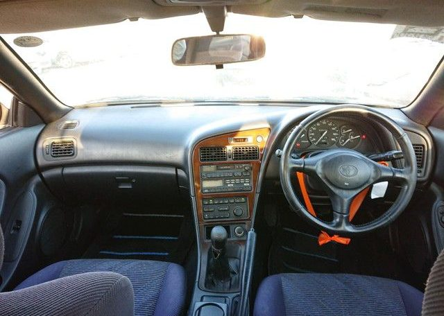 Celica GT-4 GT-Four 1994 from Japan. Reasonable Price Used Japanese Supercar. True Supercar Interior Layout