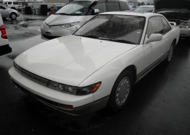 Clean low miles S13 Silvia shipped to UK via Japan Car Direct