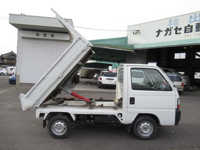 Kei mini truck workhorse dump bed good condition Diff lock low mileage 25 years old rule USA cheap low cost economical option use right away import export straight direct from japan Japanese jdm auctions buy sell