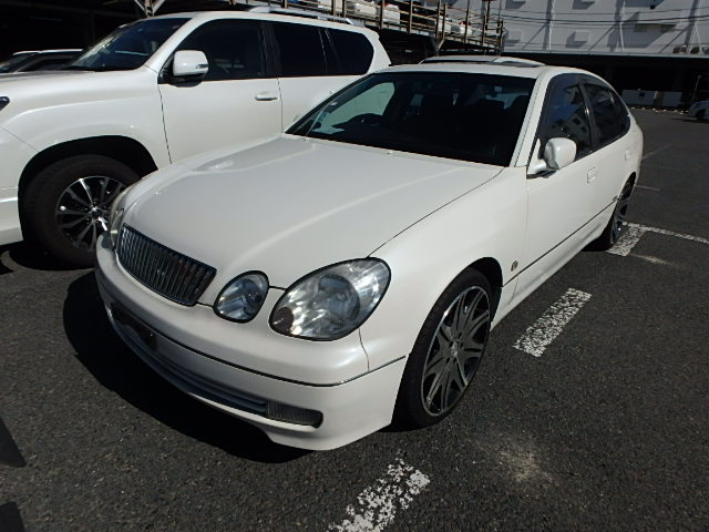 JDM luxury with power 3.0L good condition AT Sunroof 2JZ engine Twin turbo JZS161 clean Import directly through Japanese used car vehicles auctions ship direct to your door low cost save money
