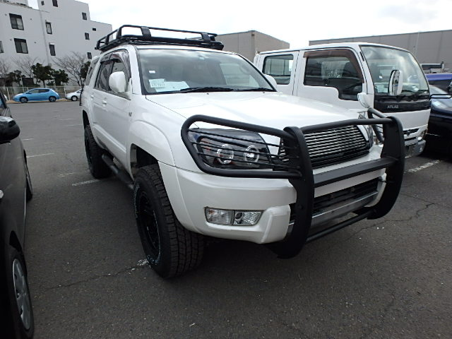 Gasoline 4wd 4x4 mean beefy Japanese trucks Good great condition low kms mileage aftermarket parts mods lift up 3.4L engine AT JDM Buy and sell from auctions Shipped directly to your nearest port Hassle free East save money