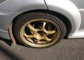 Good condition Used Lancer Evo self import from Japan via JCD. Advan Racing wheels