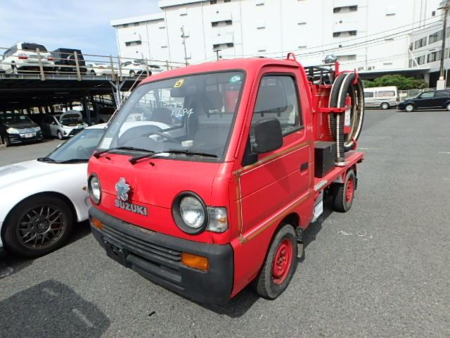 Service truck well looked after vintage JDM reliable versatile truck go anywhere help those in need import from Japan for cheap
